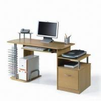 Quality Computer Desk, Available with MDF Vacuum Absorb PVC Finish for sale