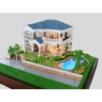Villa Interior Architectural Model With Furniture