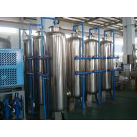 Quality Ion Exchanger City Water Treatment System RO Water Purifier Machine for sale