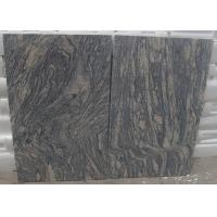 Buy cheap Polished G441 China Light Grey pink Juparana Imperial Sand Wave Granite Tread stone tiles slabs from wholesalers