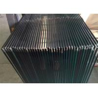 Quality Clear Tempered Glass Railing Panels / 4mm Colored Tempered Glass Sheets for sale