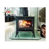 Quality Free Standing Polished Cast Iron Fireplace for sale