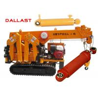 Quality Dual Acting Hydraulic Piston Cylinders for Engineering Truck / Transportation Machinery for sale