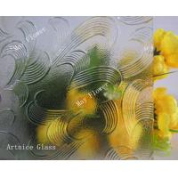 Buy 3mm to 8mm May Flower Patterned Glass, Rolled Glass, Figured Glass with at wholesale prices