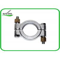 Quality Hygienic High Pressure Pipe Clamps With Automatically Adapt Fastening Forces for sale