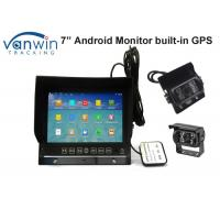 Quality 7 Inch Android Car Video Monitors GPS Navigation System Max 32GB SD Card Recording for sale