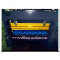 Quality Quality Colour Aluminium Metoccopo Step Tiles Roofing Panel Corrugating Machine with Auto Steel Cutter for sale