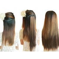 "Quality 14""-28""  Long Lasting Synthetic Hair Extensions Weft Soft Tangle Shed Free for sale"