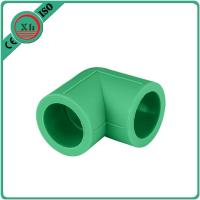 Quality Green / White PPR Pipe Elbow , PPR Elbow 90 20 - 110 MM Size Long Life Span for sale
