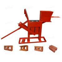 China manual brick press machine, ZS2-40 manual interlock brick press machine on sale