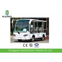 Quality White 8 Passenger's Shuttle Bus 48V 4KW Electric Sightseeing Vehicle Car for sale