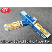 Quality Food Grade Silicone Treated Parchment Paper Virgin Wood Pulp Material Double Sides Coated for sale
