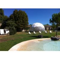 Quality 6m Diameter Small Geodesic Dome Tent For Home , Party , Reception for sale