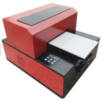 Buy cheap Multifunction Desktop UV LED Flatbed Printer A3 Size 6 Color Easy Installation from wholesalers