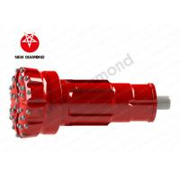 Quality Mining Drill Top Hammer Drill Bits / Ballistic Button Bits 2 - 4 Number Vents for sale