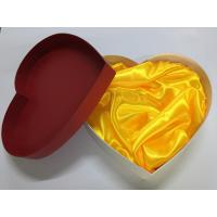 China Heart Shaped Blister Paper Packing Box / Cardboard Packaging Boxes on sale