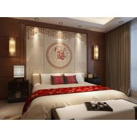 Quality Heat Proof 3D Leather Wall Panels Bamboo Fiber Wall Panels High Glossy Surface for sale
