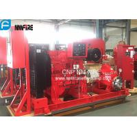 Quality UL/FM  Listed Diesel Engine Drive Fire Pump With 1500usgpm @ 102m Horizontal Split case Pump for sale