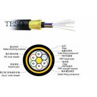 Quality CE Networking Fiber Optic Network Cable Waterproof With PE Jacket for sale
