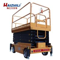 China Chinese made mobile lift platform 500kg 7m hydraulic electric scissor lift platform for sale on sale