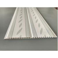 Buy Green Leaf Kitchen Wall Cladding Panels , Plastic Wall Liner Panels at wholesale prices