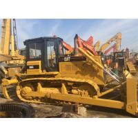 Quality New Painting Second Hand Bulldozers Caterpillar D6G , Small Crawler Dozer for sale
