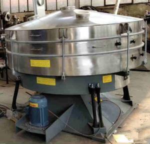 China high efficient corn starch sieve machine fine powder rotary vibrating separator on sale on sale