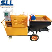 Quality High Efficiency Mortar Spraying Machine Automatic Plastering Machine For Exterior Wall for sale