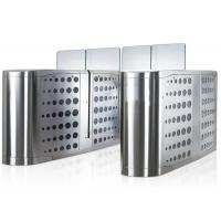 China Pedestrian Waist Height Access Control Turnstiles Gate With Glass Panel on sale