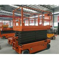 Buy Aerial Working Lightweight Scissor Lift For Indoor Or Outdoor Construction at wholesale prices