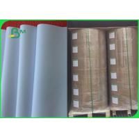 Quality Paper Printing White Bond Paper 53 Gsm - 210gsm Weight Excellent Brightness for sale