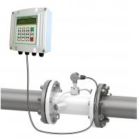 Quality low cost 3 inch ultrasonic flowmeter feed water flow rate meter 4-20mA output for sale