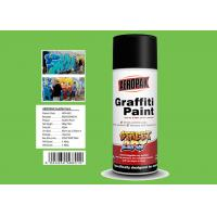 Quality Jade Green Color Graffiti Spray Paint High Coverage For Motorcycle Surface Decoration for sale