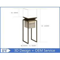 Quality Factory manufacturers  design museum showcase with stainless steel tempered glass led lights for sale