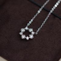 Buy cheap 1.48 Grams Moissanite Jewelry , 0.08 Carat White Gold Moissanite Necklace from wholesalers