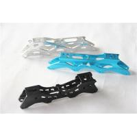 China Customized colorful Aluminium alloy extrusion parts for ice skates blade support on sale