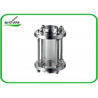 Quality Hygienic Industrial Sight Glasses For Pressure Vessels , High Pressure Sight Glass for sale