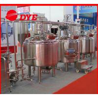 Quality CE approved 500l mash tank home beer brewing machine brew equipment for sale
