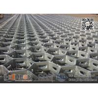 "Quality Stainless Steel 321 grade 14gauge X 3/4"" depth Hexmesh Grating for refractory line for sale"