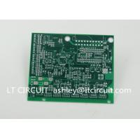 Buy Impedance Control Printed Circuit Board PCB Lead Free HASL Green Solder Mask at wholesale prices