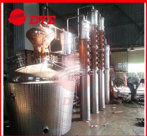 Quality Manual Commercial Distilling Equipment , Rum / Brandy Pot Still for sale