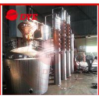 Quality Manual Commercial Distilling Equipment , Rum / Brandy Pot Still for sale