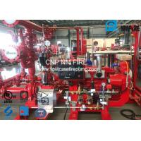 Quality 450GPM @ 125PSI Skid Mounted Fire Pump With Centrifugal End Suction Fire Pump Sets for sale