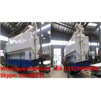 Quality 2018s best seller-CLW brand 8tons-20tons bulk feed tank with electric discharging system for sale, bulk feed tank body for sale
