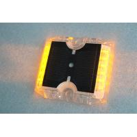Quality 12 LEDs Solar Powered Road Studs 115×105×20 MM -20°C +70°C Work Temperature for sale