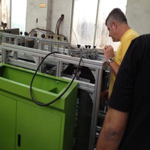 Quality Paper Roll Aluminum Foil Rewinding Machine Foil Roll ,  Siemens PLC for sale
