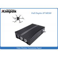 Quality Rugged COFDM IP Mesh Surveillance Wireless Downlink Uplink Bi-directional Radio for sale