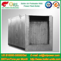 Quality Natural Gas Industry 10 Ton Ponderance 150 MW APH Heating Boiler Air Preheater for sale
