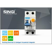 Buy 50 / 60Hz IP20 20A Residual current circuit breaker with overcurrent protection at wholesale prices