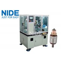 Buy Servo double cutter cnc armature Commutator Turning Machine lathe at wholesale prices